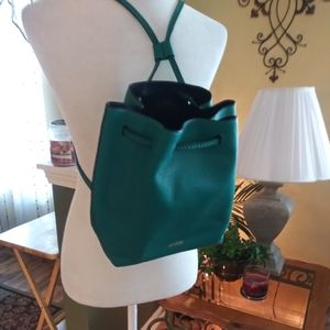 Kate Spade Sling Back Leather Purse Bucket Bag